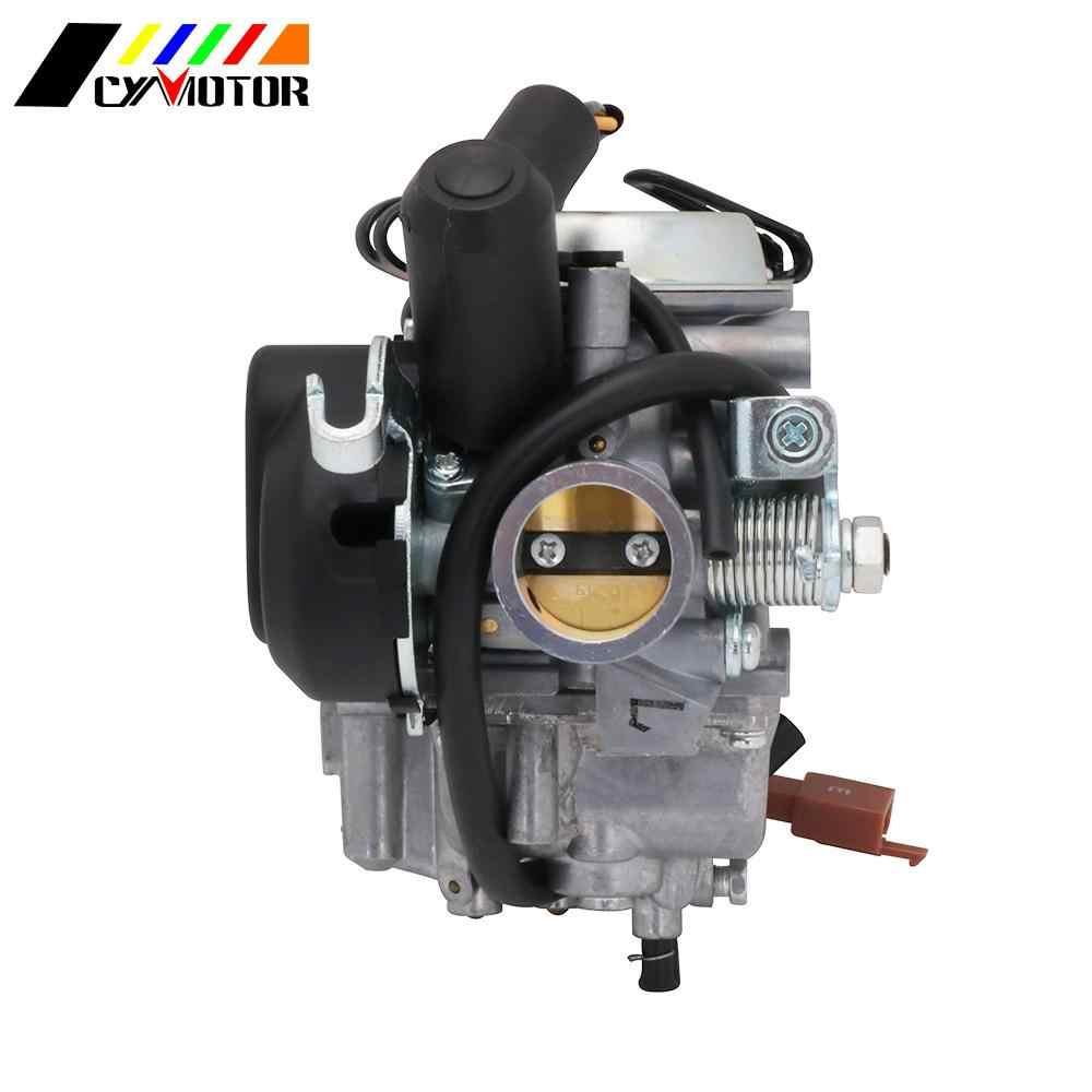 Motosiklet 26mm karbüratör Carb Carburador için PD26JY SUZUKI AN125 AN 125 Burgman japonya MIKUNI marka 125cc silindir Piston