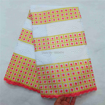 Wholesale High Quality Swiss Voile Lace In Switzerland Cotton African Dry Cotton Lace Fabric Nigerian Man Voile Lace Fabrics HLS