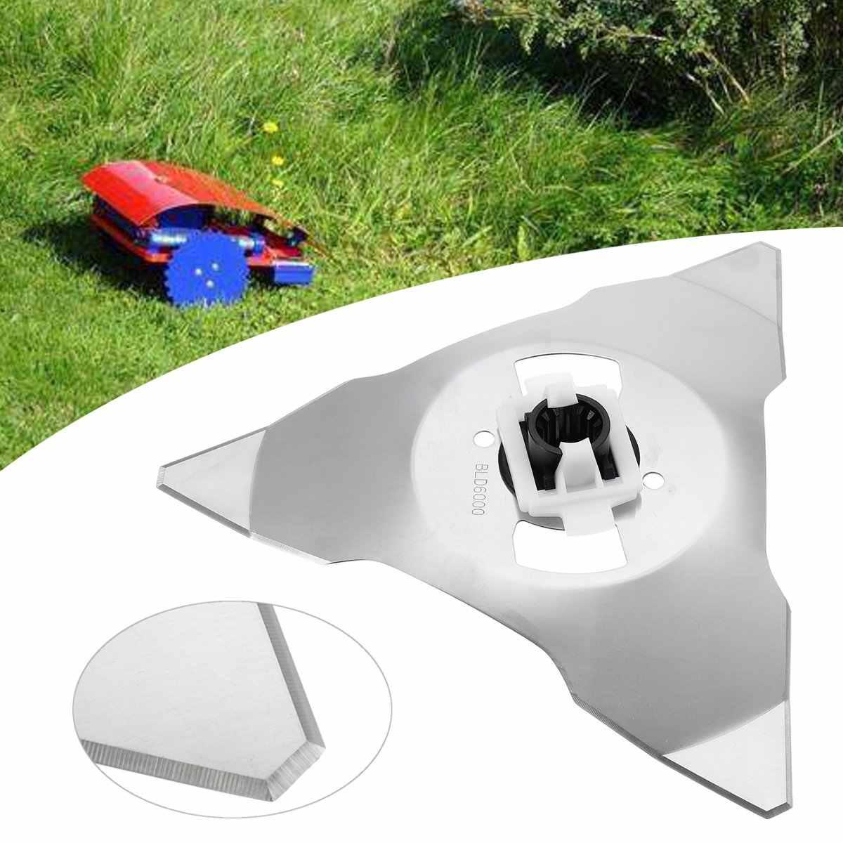 Сменные лезвия садовая газонокосилка части резак лезвие триммер садовый электротриммер аксессуары для RS RC модели косилки Роботы