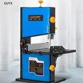 8 дюймов ленточная пила Бытовая многофункциональная маленькая деревообрабатывающая настольная Электроинструмент проволочная пила машина...