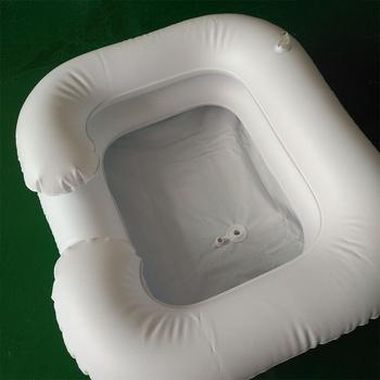 Wysokiej jakości nadmuchiwany szampon umywalka szampon zlew nadmuchiwany szampon wanna łóżko pielęgnacja nadmuchiwany pojemnik wygodny szampon umywalka tanie i dobre opinie Other Bez pokrywy inflatable shampoo basin Ekologiczne Zaopatrzony convenient shampoo basin bed care inflatable container