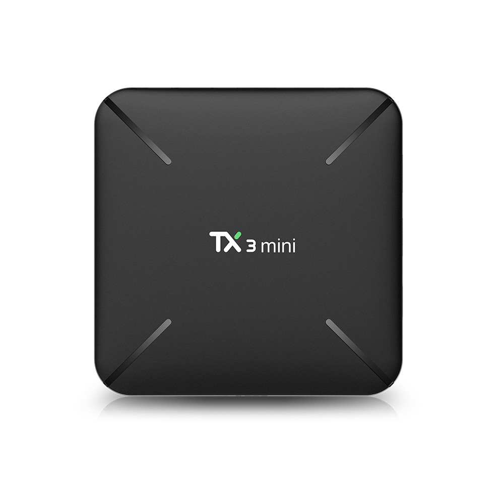 <font><b>TX3</b></font> <font><b>Mini</b></font> TV Box <font><b>Android</b></font> <font><b>7.1</b></font> Smart TV H2.65 IPTV 4K WiFi Set Top Box TVBOX IPTV Media Player Amlogic S905W 2G 16G <font><b>Tanix</b></font> Box image