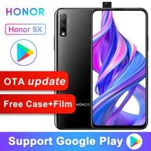 Original Honor 9X Smart Phone Kirin 810 Octa Core 6.59 inch Lifting Full Screen