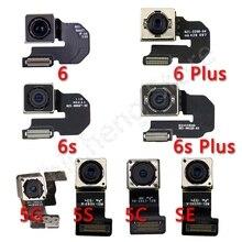 100% Originele Hoofd Back Camera Flex Voor iPhone 6 6s Plus SE 5 5s 5c Achteruitrijcamera Flex kabel Spare Poorten