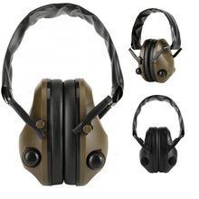 Anti-Noise Audio Headphone Tactical Shooting Headset Soft Padded Electronic Earmuff for Sport Hunting Outdoor Sports