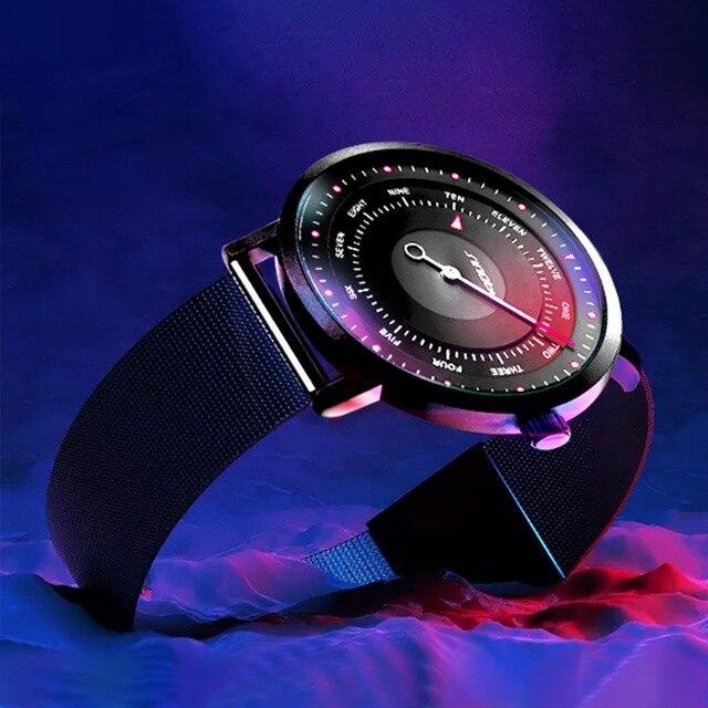 SINOBI חמה אופנה גברים של Creative ספורט שעון קוורץ שעון מזדמן צבאי זוהר עמיד למים שעון יד Relogio Dropshipping