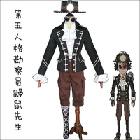 Anime Game Identity V Cosplay Costume Prospector Norton Campbell Cosplay Costume Mr.mole Cos Skin Costumes Uniforms Suits