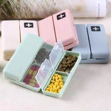 Storage Box Drawer Organizer Portable Medicine Case Foldable Magnetic Box Organizer With 7 Compartments Cosmetic(China)