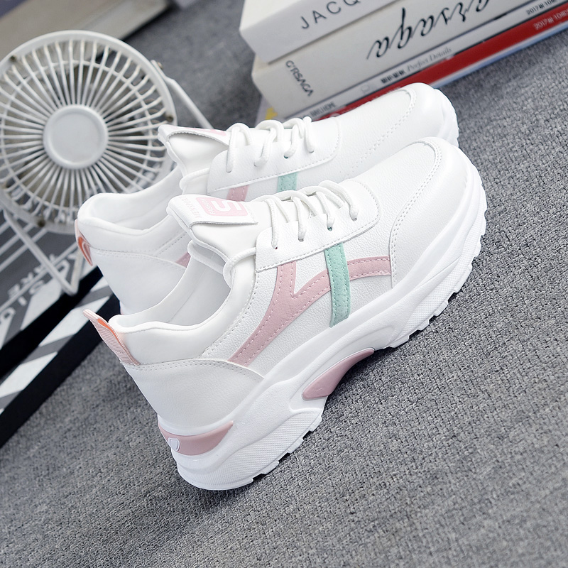Tennis Shoes For Women 2019 Tenis Feminino Air Cushion Breathable Sneakers Lace-up Outdoor Gym Sport Shoes Athletic Trainers