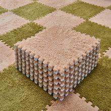 Складные ковры для гостиной, плюшевые мягкие коврики для скалолазания, разделенный ковер для ванной, Противоскользящие коврики, розовый во...