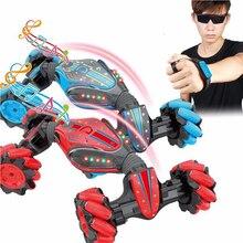 Hand Uhr Fernbedienung Auto Spielzeug Für Kinder Geschenke 360 Grad Sensor Twist Geste Transforming Klettern Stunt Drift Fahren