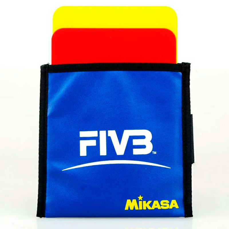 Original Japan Mikasa Volleyball Match Red Yellow Card FIVB Volleyball League Designated Referee Special Equipmen Penalty Card