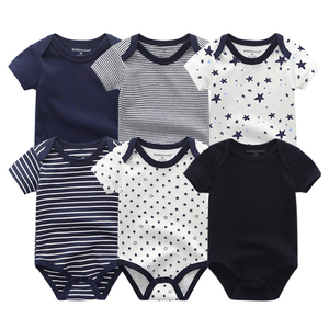 Image 4 - 2020 Newest 6PCS/lot Baby Girl Clothe Roupa de bebes Baby Boy Clothes Unicorn Baby Clothing Sets Rompers Newborn Cotton 0 12M