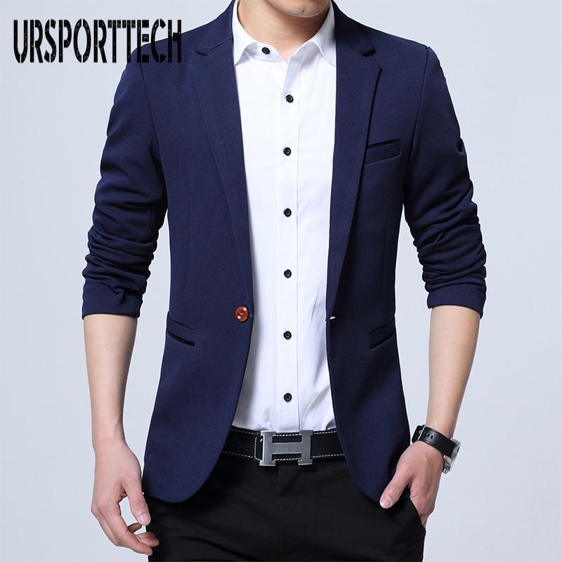 Mens Fashion Brand Blazer British's Style Casual Slim Fit Suit Jacket Male Blazers Men Coat Terno Masculino Plus Size 5XL
