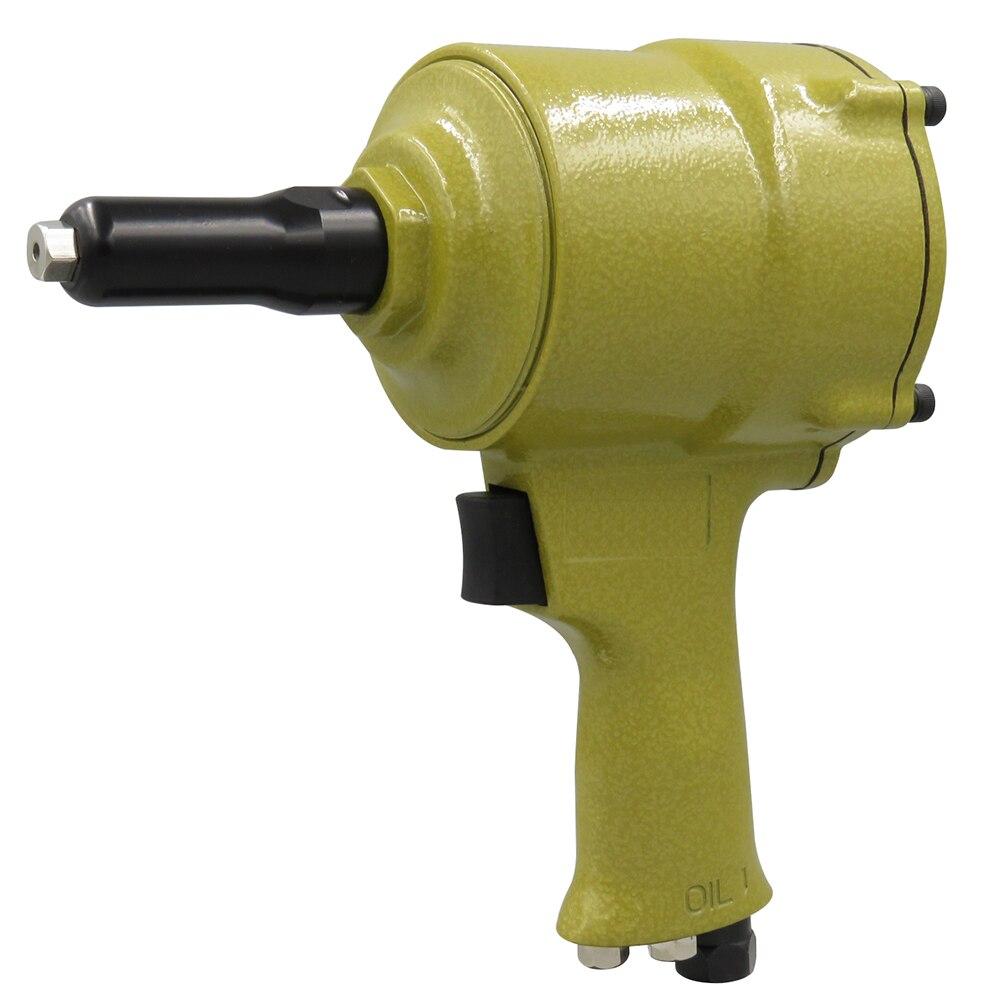 Pro Air Riveter Pneumatic Pistol Type Pop Rivet Gun Air Power Operated Riveter