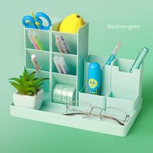 Pen-Holder Desk-Organizer Office-Accessories Storage with Gift