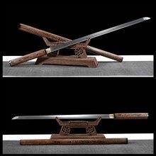 Haute qualité ZATOICHI japonais samouraï NINJA épée 8196 couches lame damas
