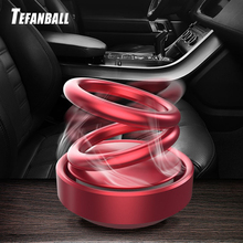 Car Double Loop Rotary Suspension Dashboard Perfume Seat Air Freshener Auto Aromatherapy Diffuser In