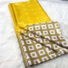 Africain Bazin riche tissu brodé 2021 haute qualité Bazin riche getzner brode 5 mètres avec Jacquard dentelle tissu femmes hommes