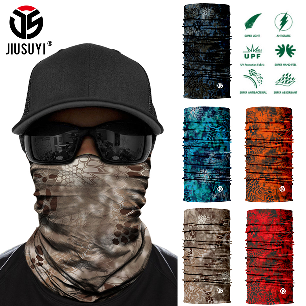 3D Seamless Bandana Neck Gaiter Lightweight Tube Ring Scarves Anti Sun Cover Head Shield Scarf Bicycle Half Face Guard Men Women