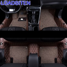 Accessories Mouldings Auto Interior Styling Automovil Modification Modified Decoration Carpet Car Floor Mats FOR Peugeot 308