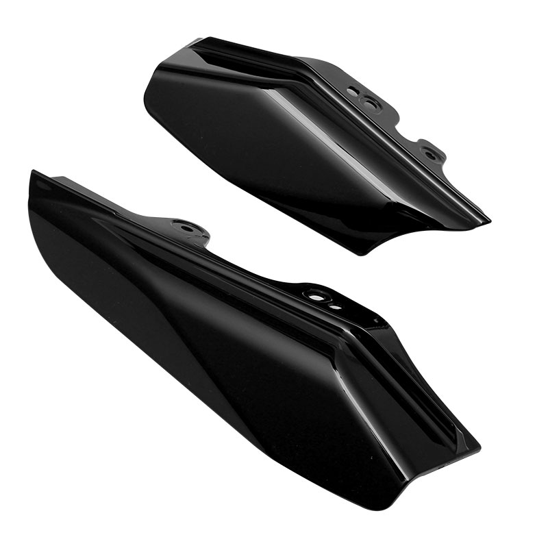 H-Ruo Silver Mid-Frame Air Deflector for Harley Touring Street Electra Glide Road King FLHR FLHX FLTR FLHT FLHRS 2001-2008