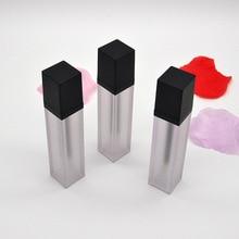 Gloss Tubes Container Refillable Bottles Liquid-Oil-Tube Packaging Empty-Lip Black Lipstick