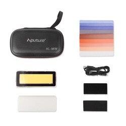 Aputure AL-MW Waterproof Pocket-sized LED Video Light 5600K Light IP68 10 Brightness Levels with 5 Cinamatic in Underwater 10m