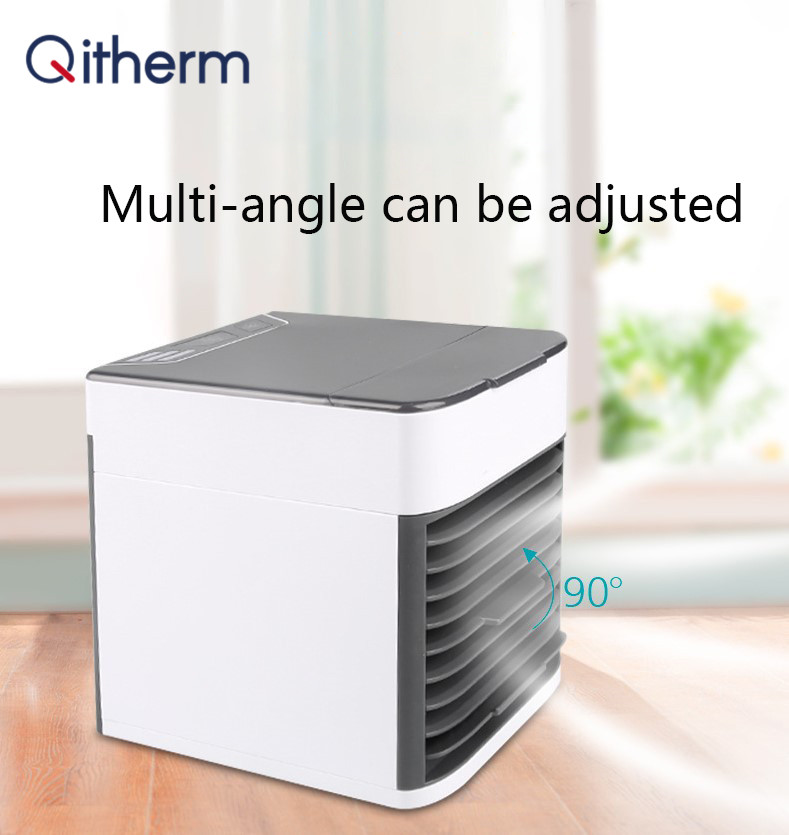 Qitherm Portable Mini Air Conditioner Fan Personal Space Fan Cooler USB Arctic Cooling The Quick Easy Way To Cool Fan For Home
