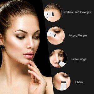 Image 5 - Ultrasonic Skin Scrubber Blackhead Remover Acne clean Facial Massager Face scrubber peeling ultrassonico pore Cleaner Machine
