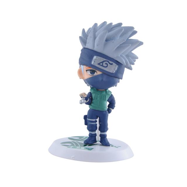 6pcs/lot Anime Naruto Action Figure Collection Kids Toys Zabuza Haku Kakashi Sasuke Naruto series PVC Model