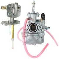 O carburador com válvula de interruptor de combustível petcock para ya ma ttr90 ttr90e ttr 90 substitui 5hn 14101 00 00 5hn 14101 10 00|Carburadores| |  -