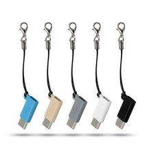 USB кабель мини Micro USB Женский к type C 3,1 Мужской адаптер USB C конвертер Лот