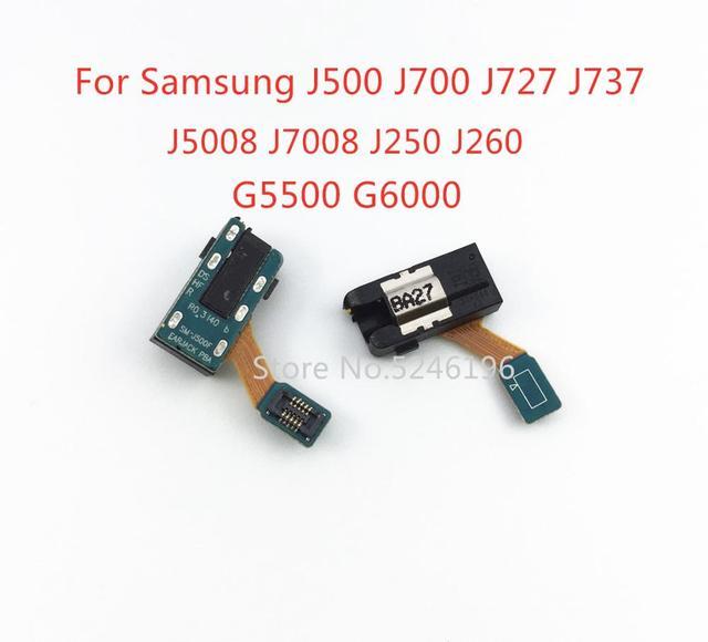 Gniazdo słuchawkowe Audio Flex Cable do Samsung Galaxy J5 J7 J500 J700 J727 J737 J7008 J5008 J250 J260 gniazdo słuchawkowe gniazdo gniazdo z tanie i dobre opinie LingLiWei For J5 J7 J500 J700 J727 J737 J7008 J5008 J250 J260