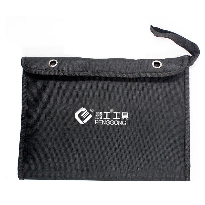 Putty-Knife-Set Knife-Tool-Bag Scraper Stainless-Steel Blade 7pcs 1--1.5-2-3-4-