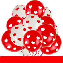 10Pcs Birthday Balloons 12 Inch 2.8g Latex Heart-shaped Balloon Thickening Pearl Party Balloon Kid Child Toy Wedding Ballons(China)