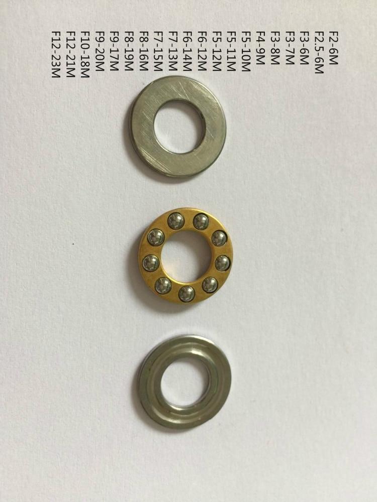 10pcs F5-10M Axial Thrust Ball Bearing 5mm x 10mm x 4mm