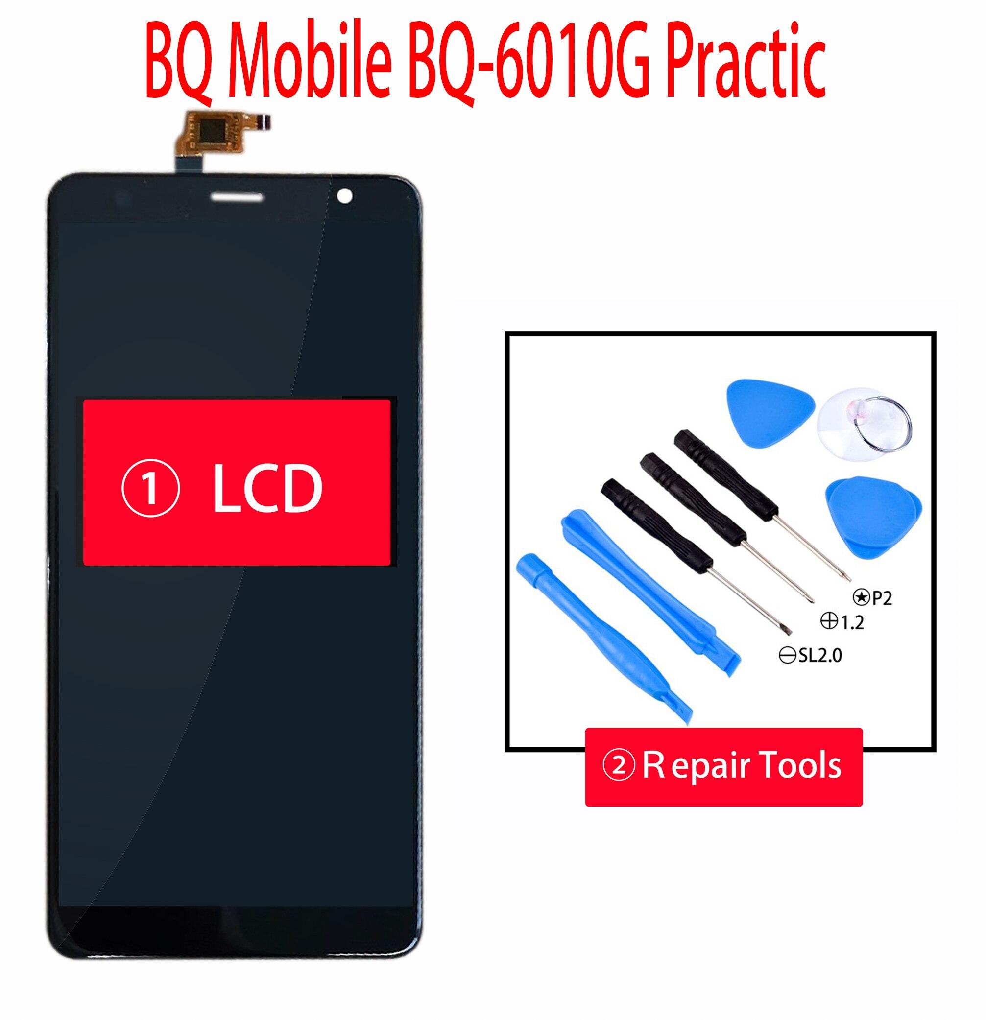 ORIGINAL 6.0 pouces pour BQ Mobile BQ-6010G pratique BQ-6010G BQ-6010 écran LCD + écran tactile Digiziter assemblée avec des outils