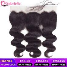 Gabrielle – perruque brésilienne naturelle Remy, cheveux humains ondulés, avec bonnet en dentelle transparente, 13x4, 4x4, 5x5, 2x6, avec baby-hairs
