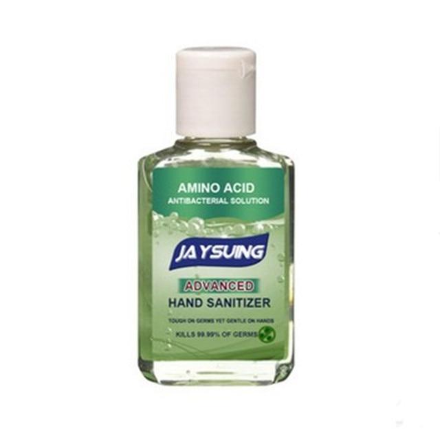 60ml Portable Alcohol Gel Hand Sanitiser Gel Hand Cleaning Gel Disposable Antiseptics Moisturizing Antibacterial Liquid No Wash 4