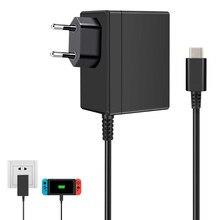 Chargeur adaptateur secteur prise ue/US pour Nintendo Switch NS 1.5A 2.6A chargeur de voyage pour alimentation USB Type C