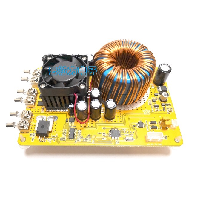 50A DC DC Adjustable Digital Control Step-down Power Supply Module Constant Voltage Constant Current Liquid Modbus