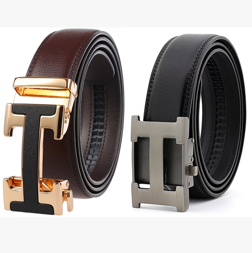 Male Belt New Designer Men's Belts Luxury Genuine Leather Fashion Belt Luxury Brand For Men High Quality Automatic Buckle