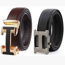 Male Belt New Designer Men's Belts Luxury Genuine Leather Fa