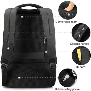 Image 4 - Travel Male Mochila School Backpack with USB Charging Port for Women Men Student Bag Bookbag Fits 15.6 Inch Laptop and Notebook
