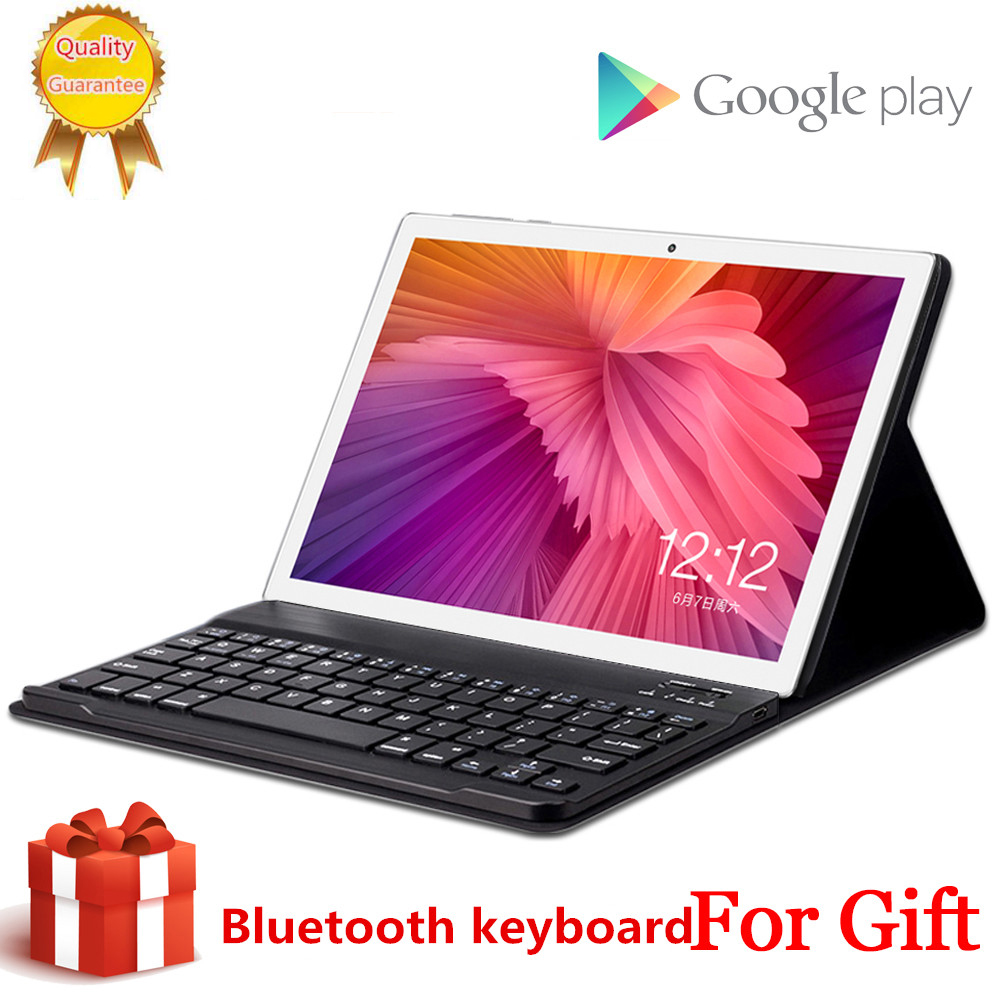 Free Gift  Bluetooth Keyboard MID Global Wifi Phablet Android 8.0 10.1 Inch Tablet 10 Core 8GB RAM 256GB ROM 1920*1200 4G LTE