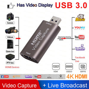 Box Video-Capture-Card Computer Game-Recording OBS Live-Streaming-Broadcast Youtube HDMI