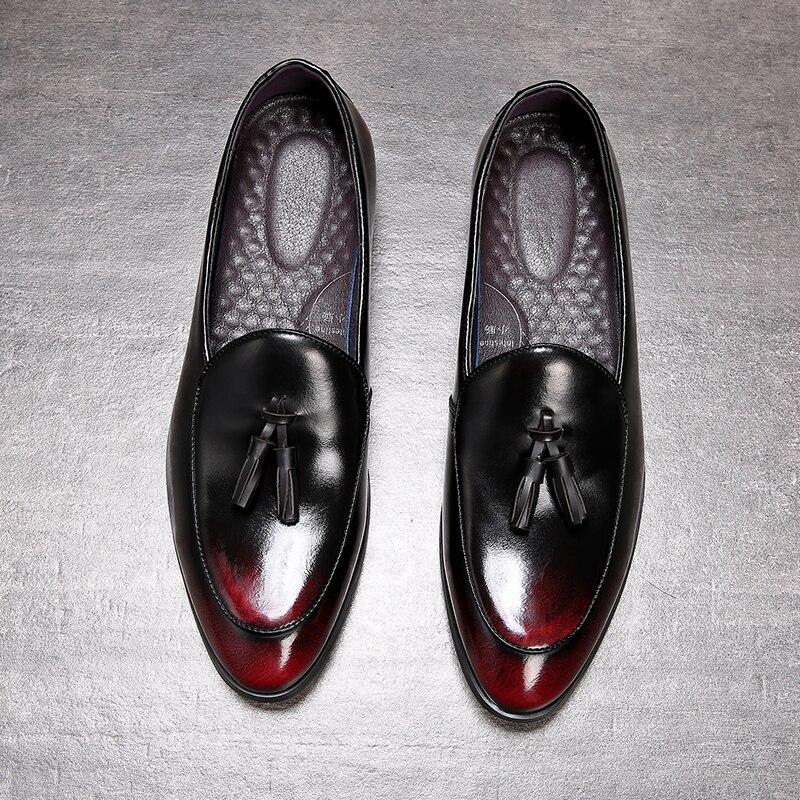 Sapatos masculinos sapatos de casamento de couro sapatos de casamento de couro sapatos de couro artesanal
