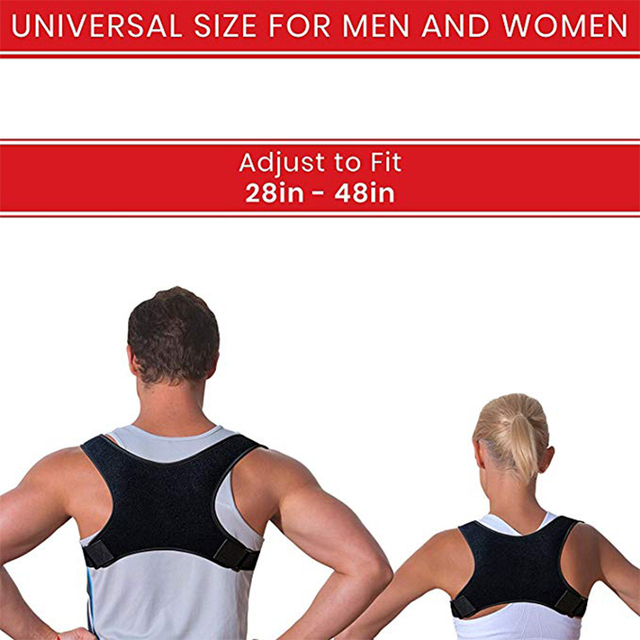 Adjustable Brace Support Belt Adjustable Posture Corrector Back Belt Posture Corrector Clavicle Spine Back Shoulder Lumbar 6