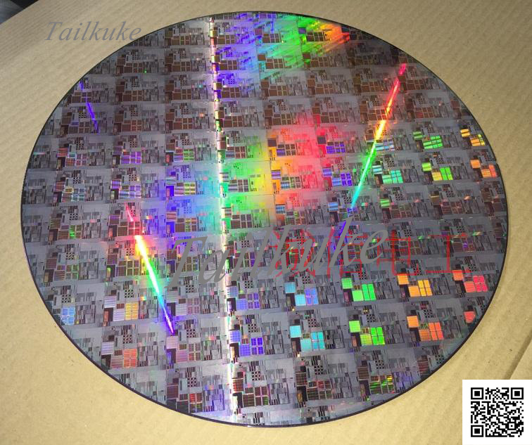 Wafer Silicon Wafer Wafer Complete Chip Silicon Wafer Single Crystal Silicon Wafer 12 Inch
